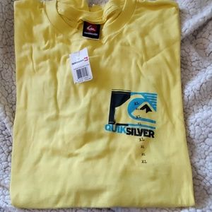 NEW QUIKSILVER XL T SHIRT